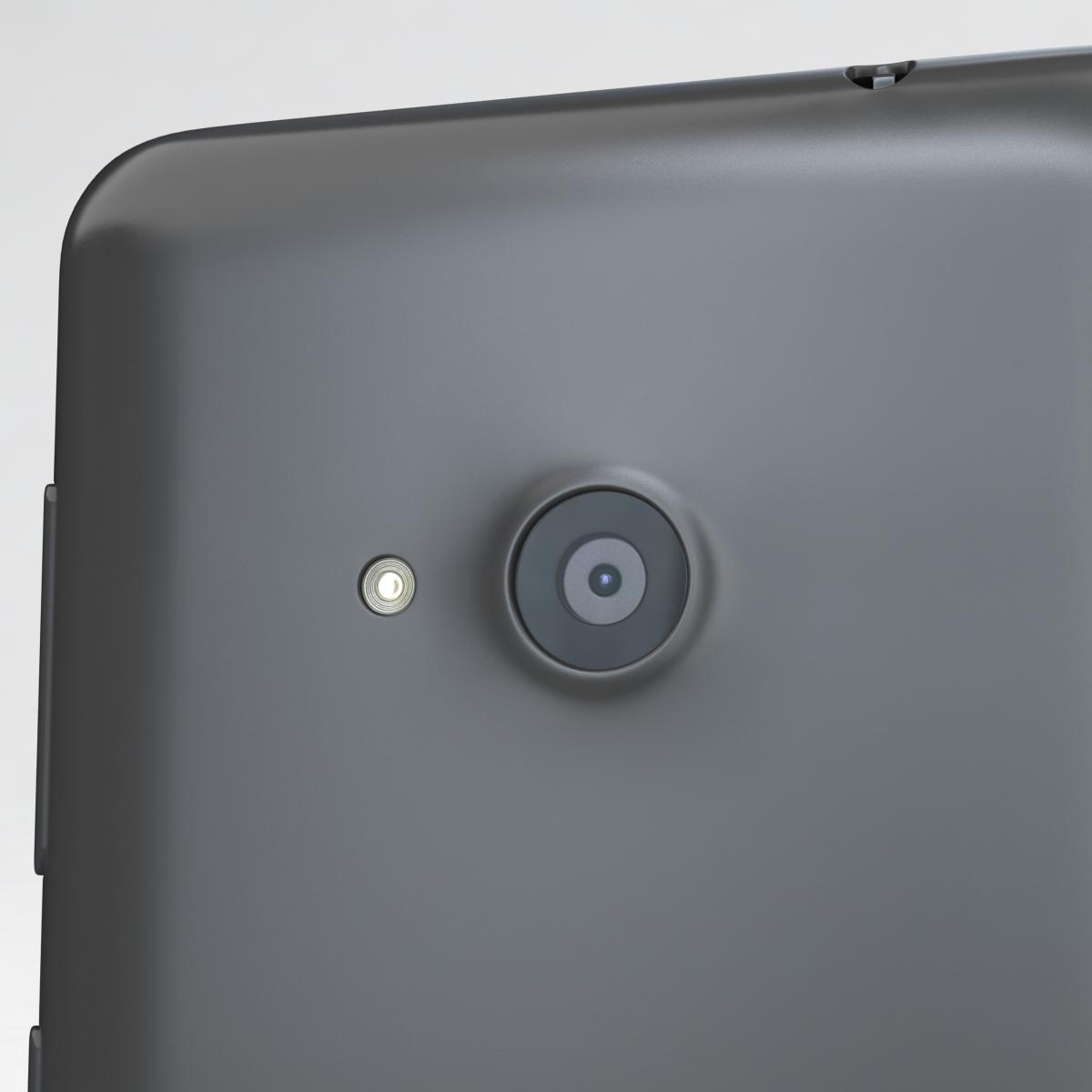 microsoft lumia 535 and dual sim gray 3d model 3ds max fbx c4d obj 204471