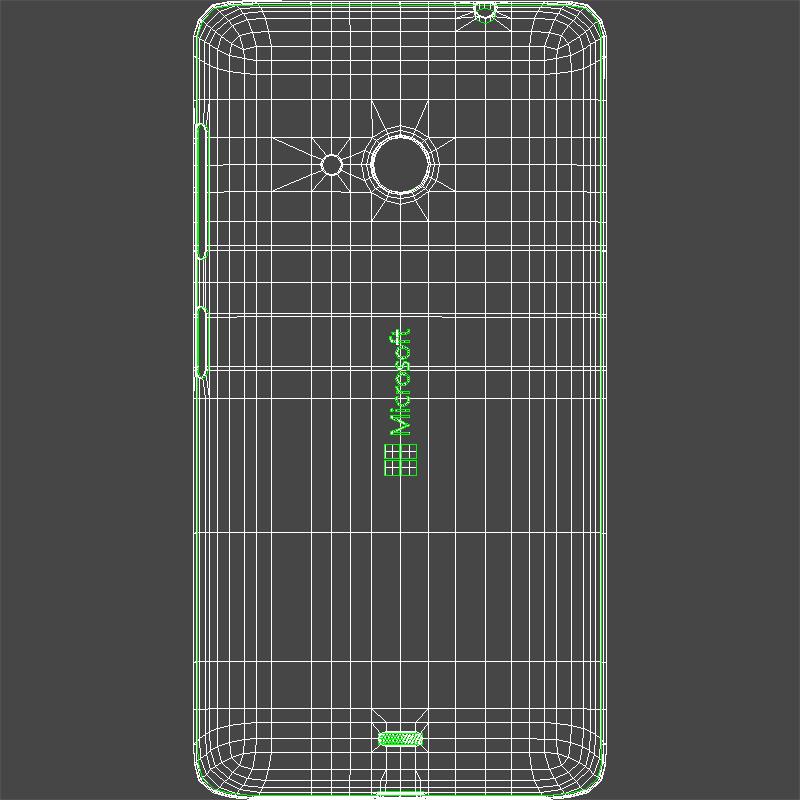 microsoft lumia 535 and dual sim gray 3d model 3ds max fbx c4d obj 204478