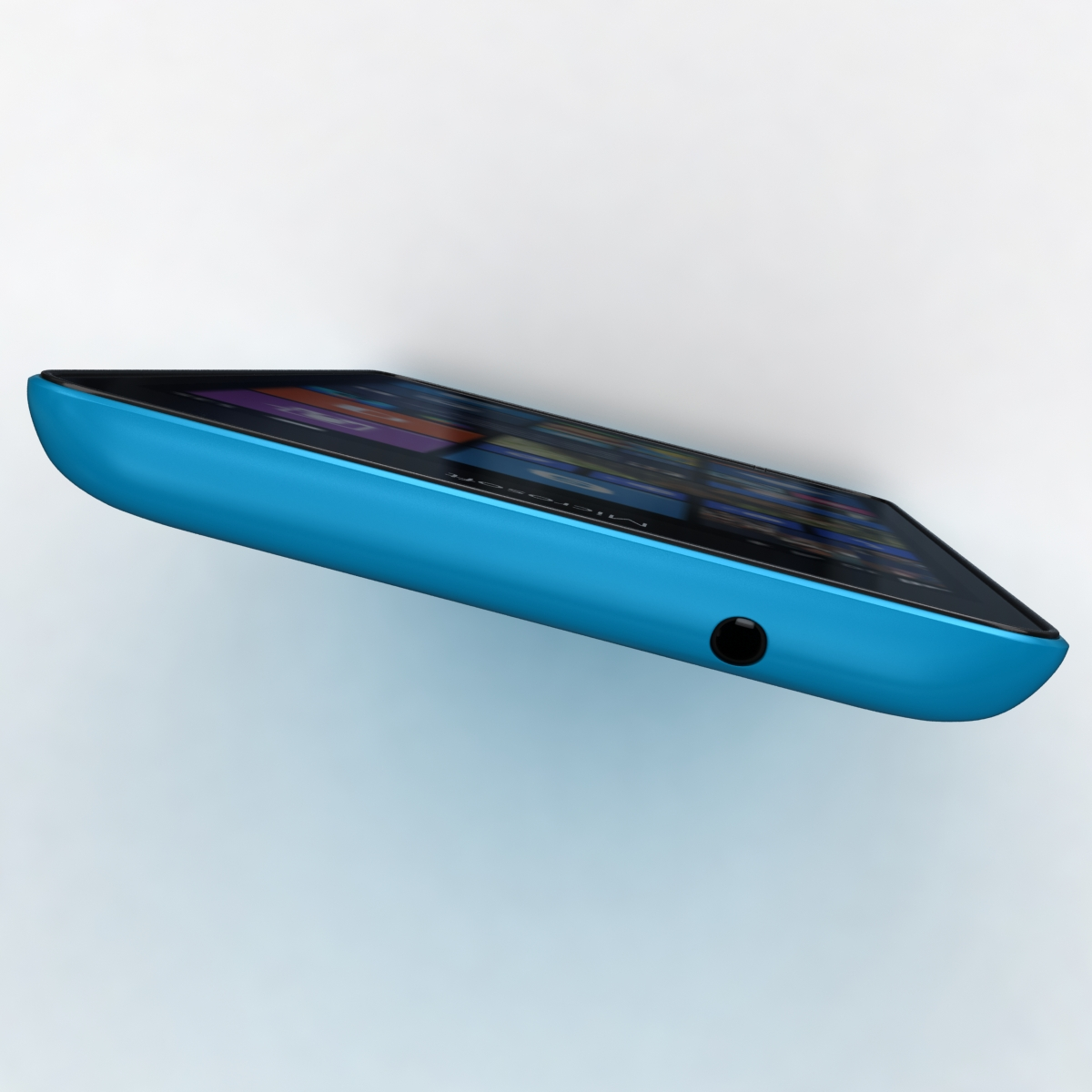 microsoft lumia 535 and dual sim blue 3d model 3ds max fbx c4d obj 204535