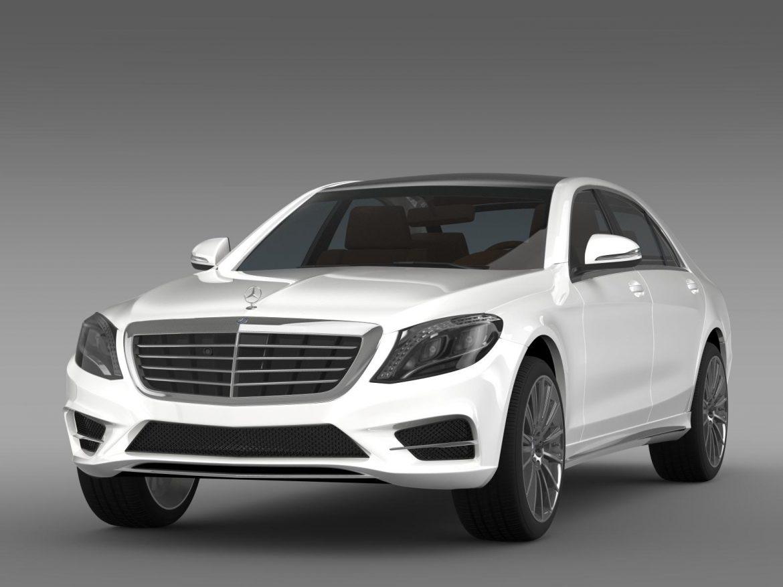 amg mercedes benz s 350 bluetec w222 2013 3d model 3ds fbx c4d lwo ma mb hrc xsi obj 204600