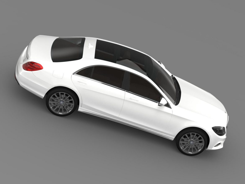 amg mercedes benz s 350 bluetec w222 2013 3d model 3ds fbx c4d lwo ma mb hrc xsi obj 204608