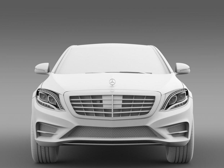 amg mercedes benz s 350 bluetec w222 2013 3d model 3ds fbx c4d lwo ma mb hrc xsi obj 204610
