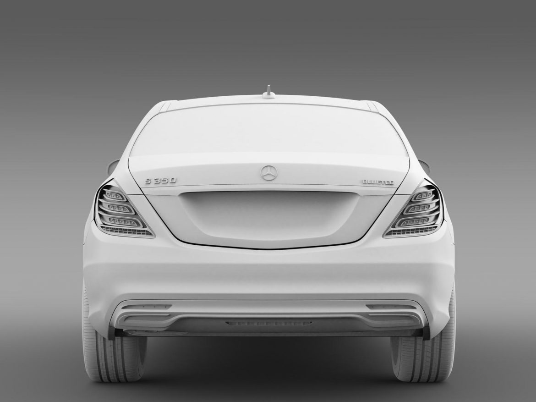 amg mercedes benz s 350 bluetec w222 2013 3d model 3ds fbx c4d lwo ma mb hrc xsi obj 204611