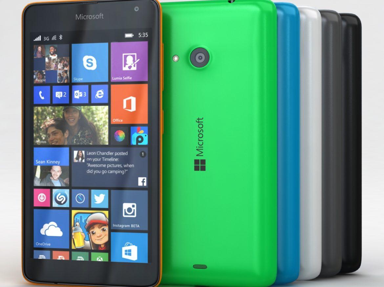 Microsoft Lumia 535 and Dual SIM All Colors ( 594.31KB jpg by NoNgon )