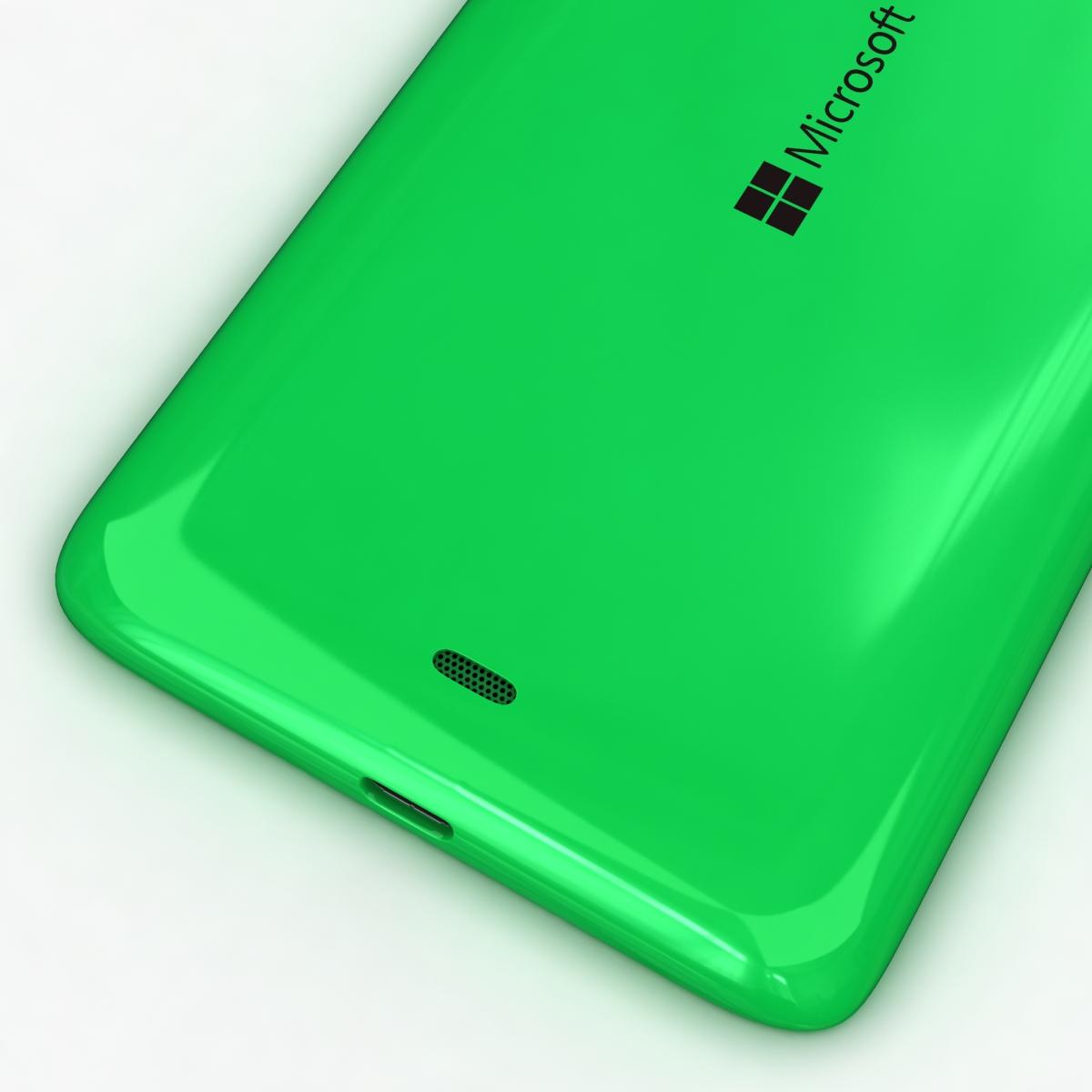 microsoft lumia 535 and dual sim all colors 3d model 3ds max fbx c4d obj 204673