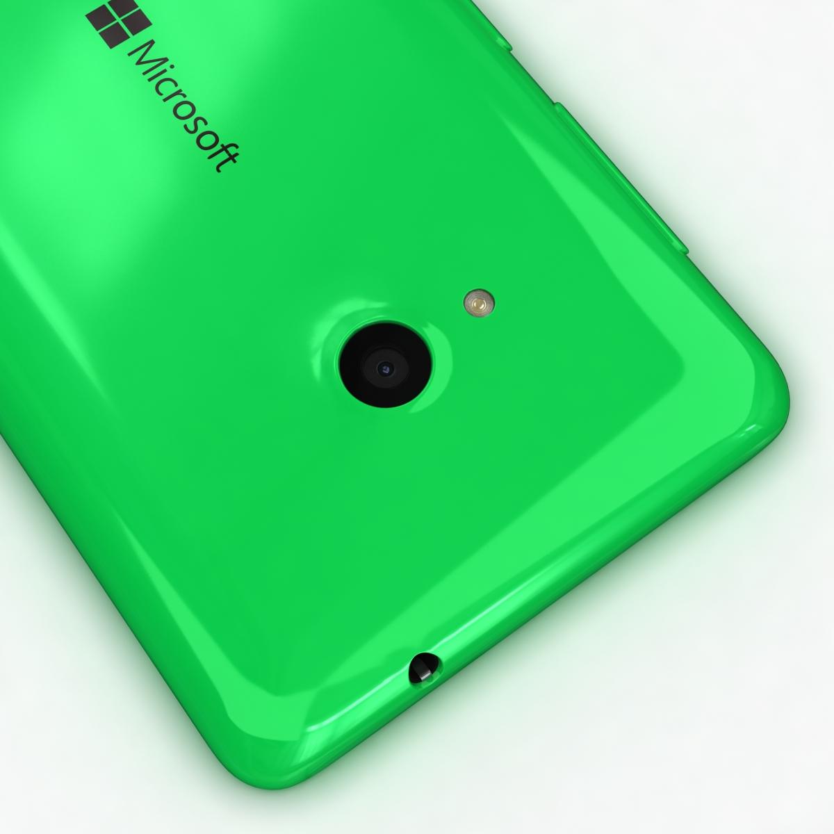 microsoft lumia 535 and dual sim all colors 3d model 3ds max fbx c4d obj 204674