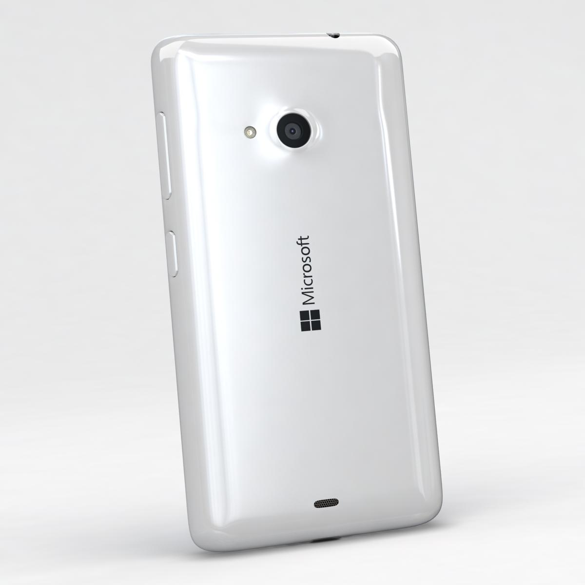 microsoft lumia 535 and dual sim all colors 3d model 3ds max fbx c4d obj 204680