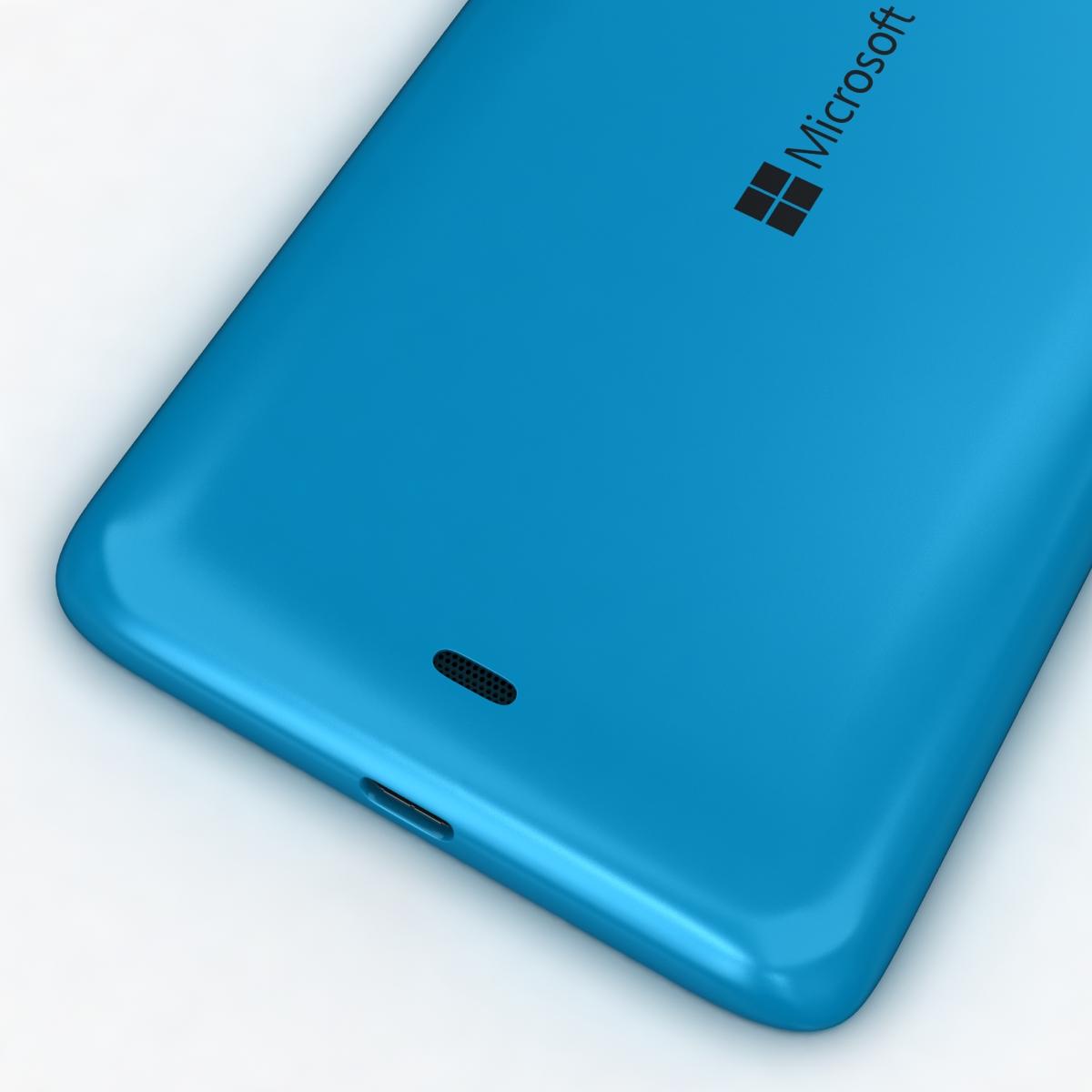 microsoft lumia 535 and dual sim all colors 3d model 3ds max fbx c4d obj 204698