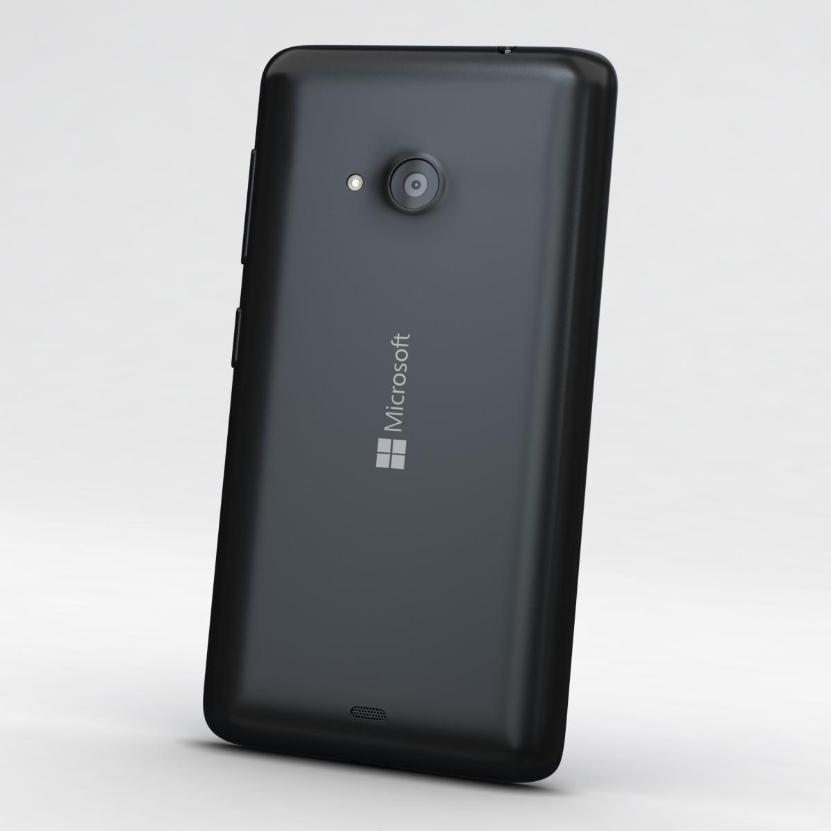 microsoft lumia 535 and dual sim all colors 3d model 3ds max fbx c4d obj 204703