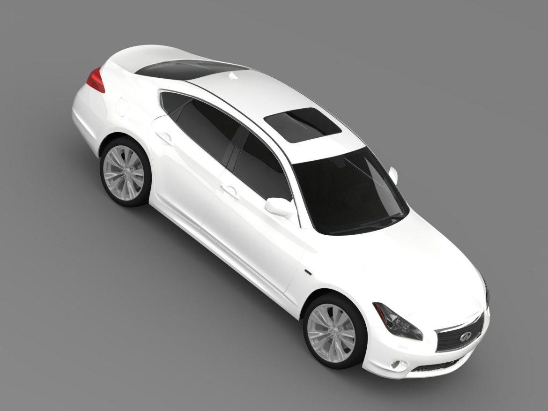 infiniti m30d y51 2013 3d model 3ds max fbx c4d