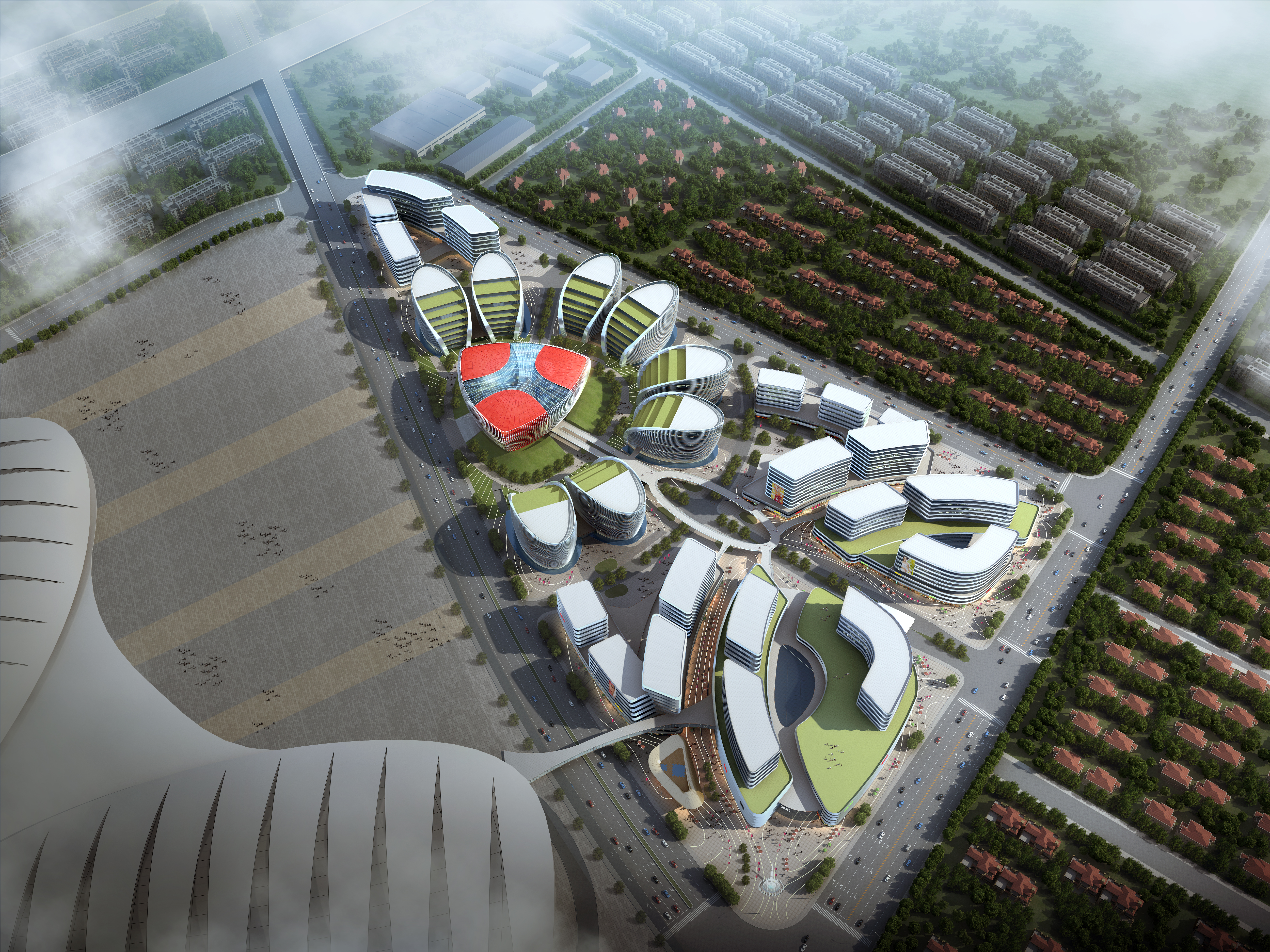 international convention and exhibition center 4 3d model max 204860