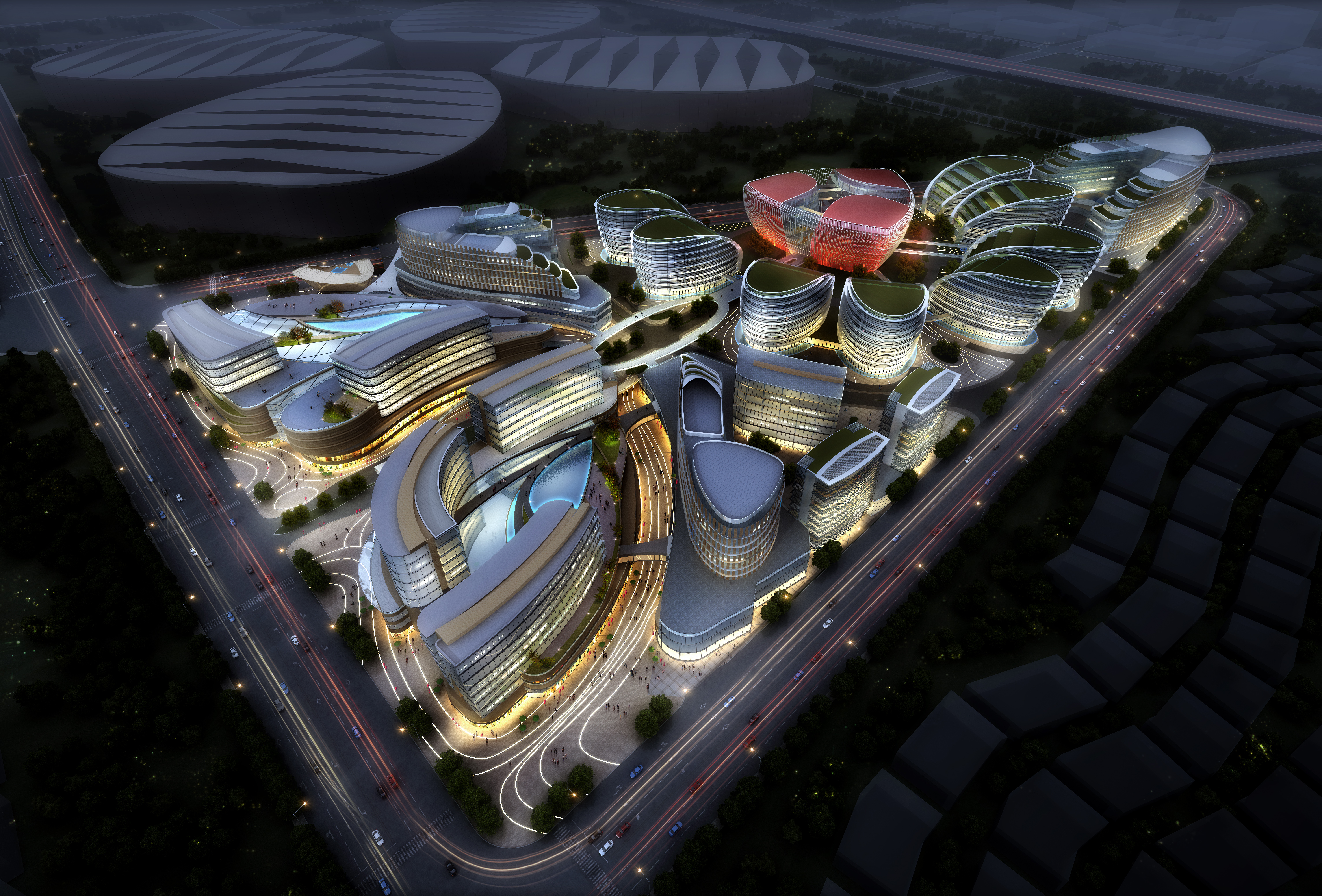 international convention and exhibition center 6 3d model max 204881