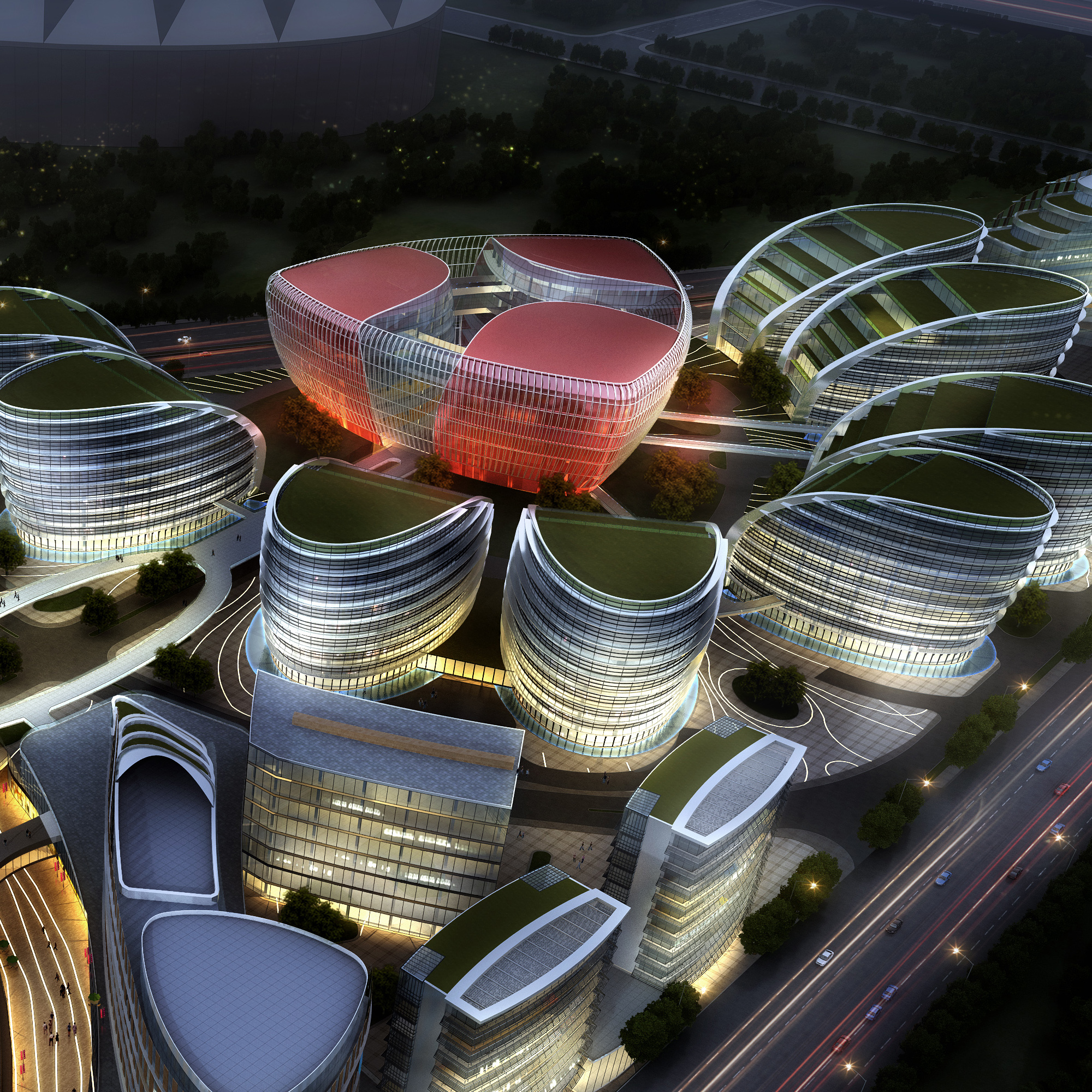 international convention and exhibition center 6 3d model max 204883