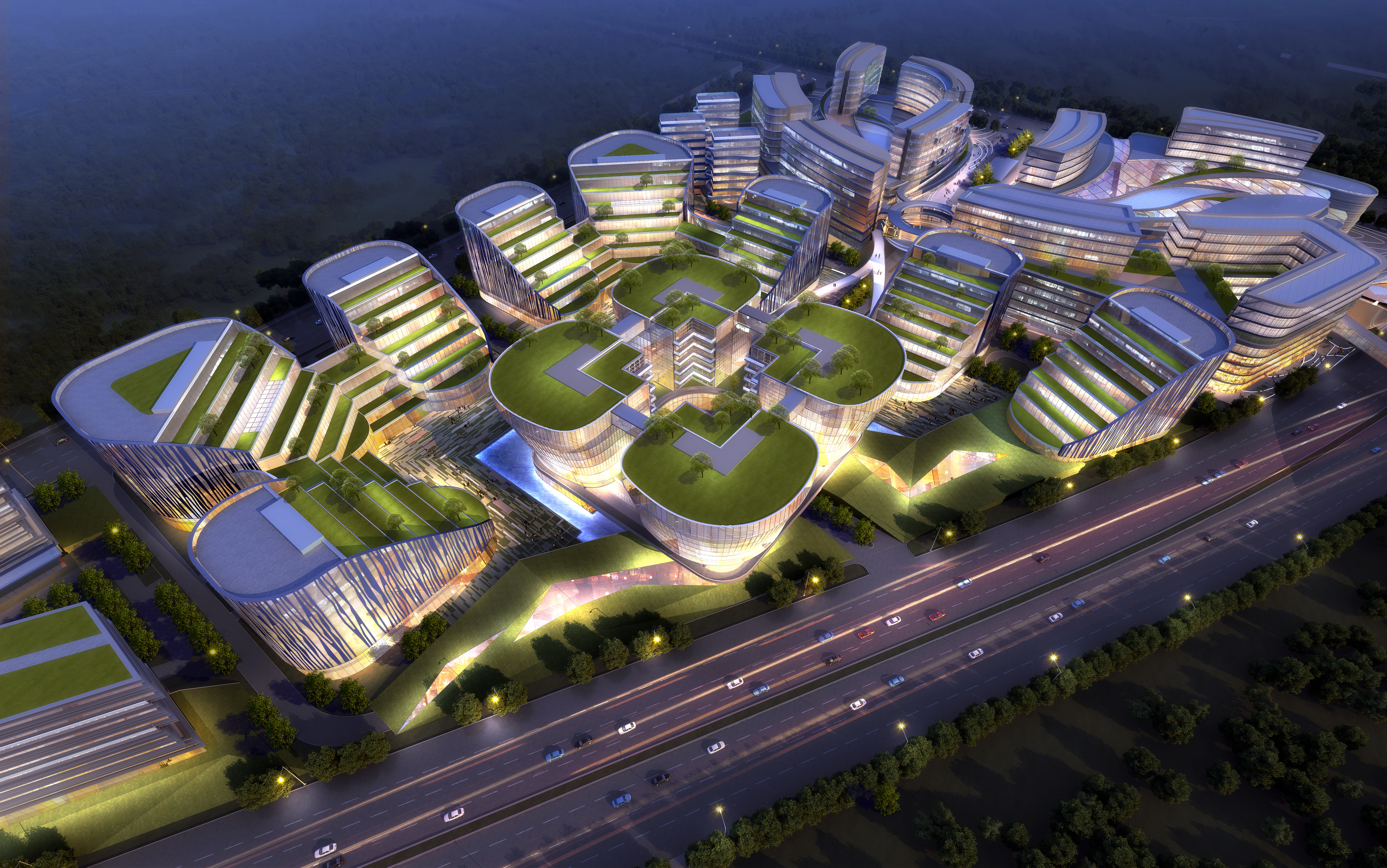 international convention and exhibition center 7 3d model max 204886