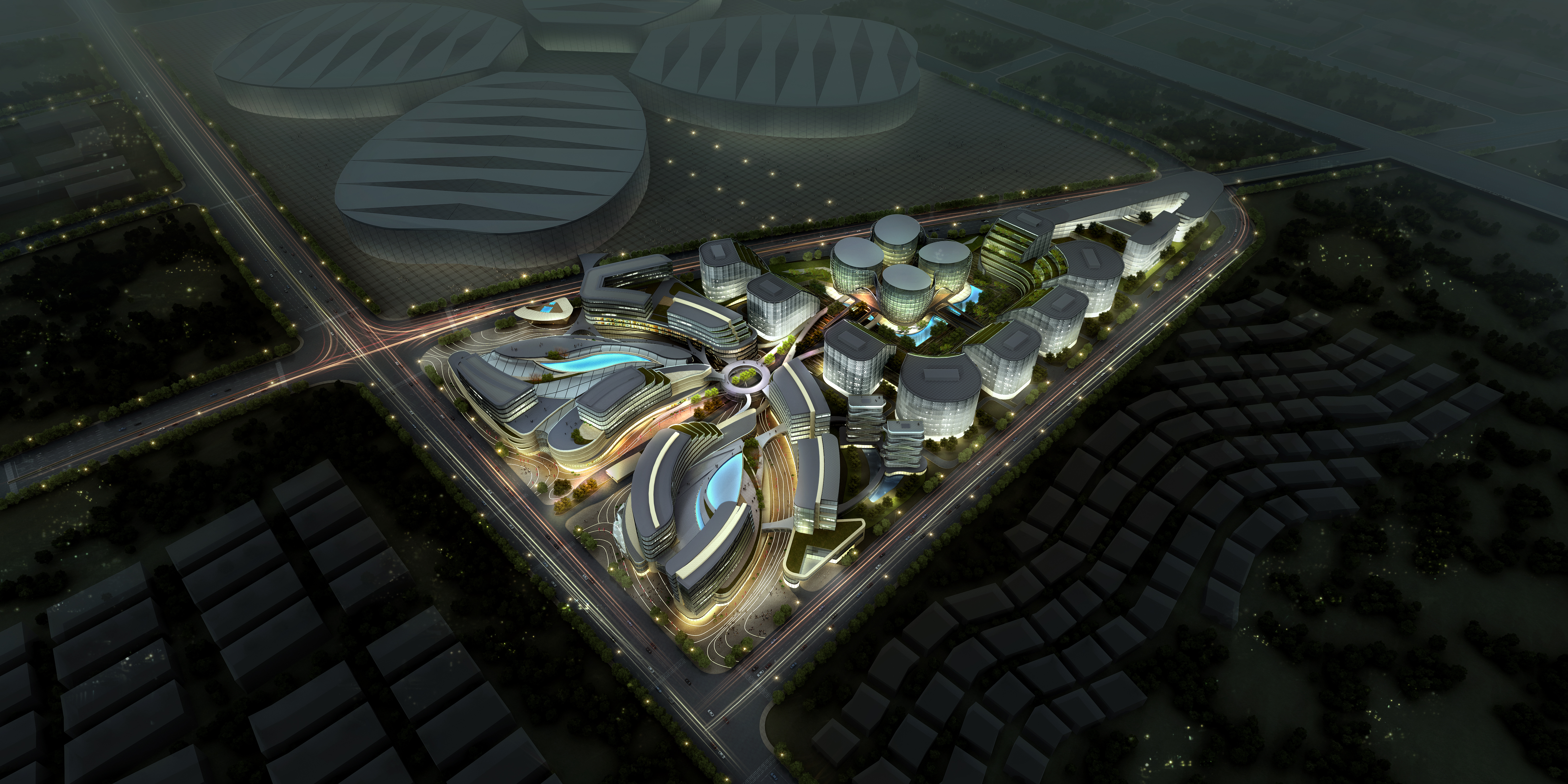 international convention and exhibition center 8 3d model max 204894