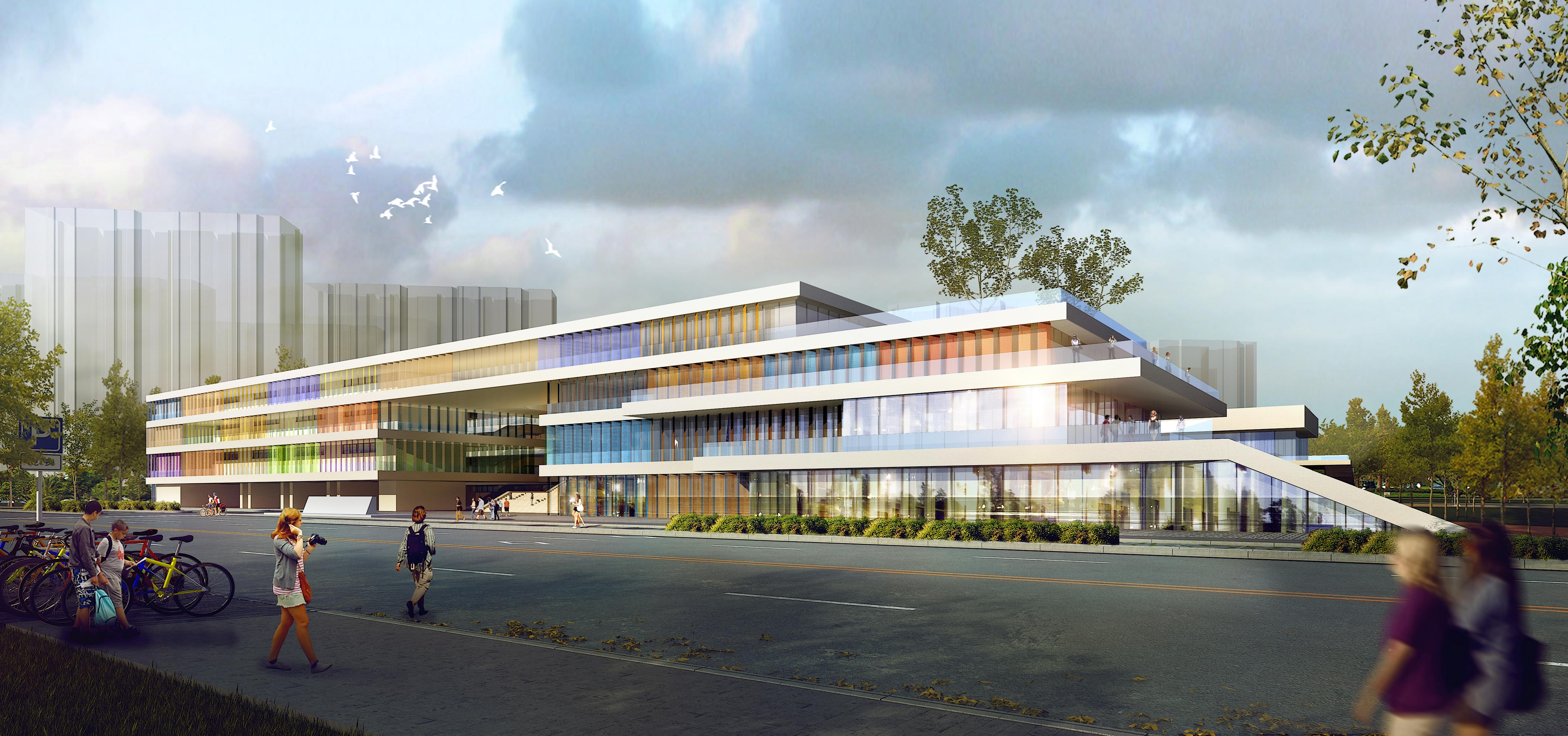školske zgrade 001 3d model max 204944