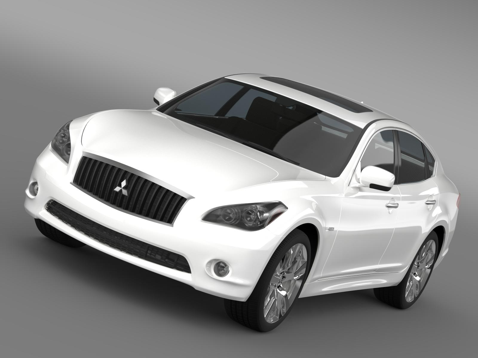 mitsubishi prideia by51 3d model 3ds max fbx c4d le do thoil le hrc xsi obj 205008