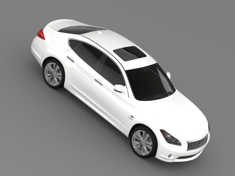 mitsubishi proudia hybrid by51 3d modelis 3ds max fbx c4d lwo ma mb hrc xsi obj 205039