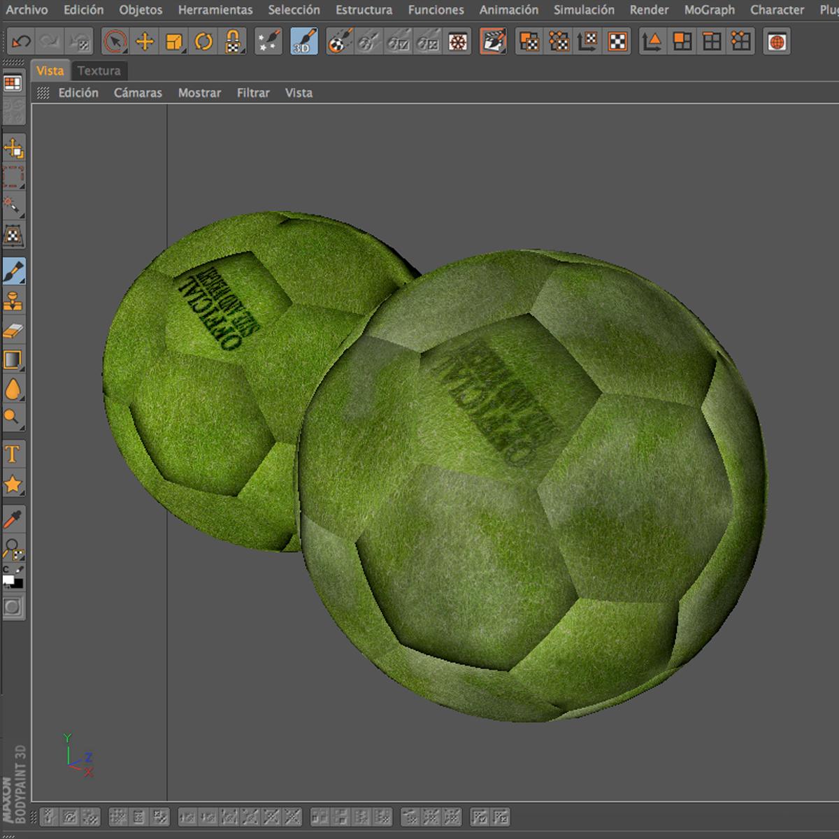 soccerball дотроо 3d загвар 3ds max fbx c4d м mb obj 205147