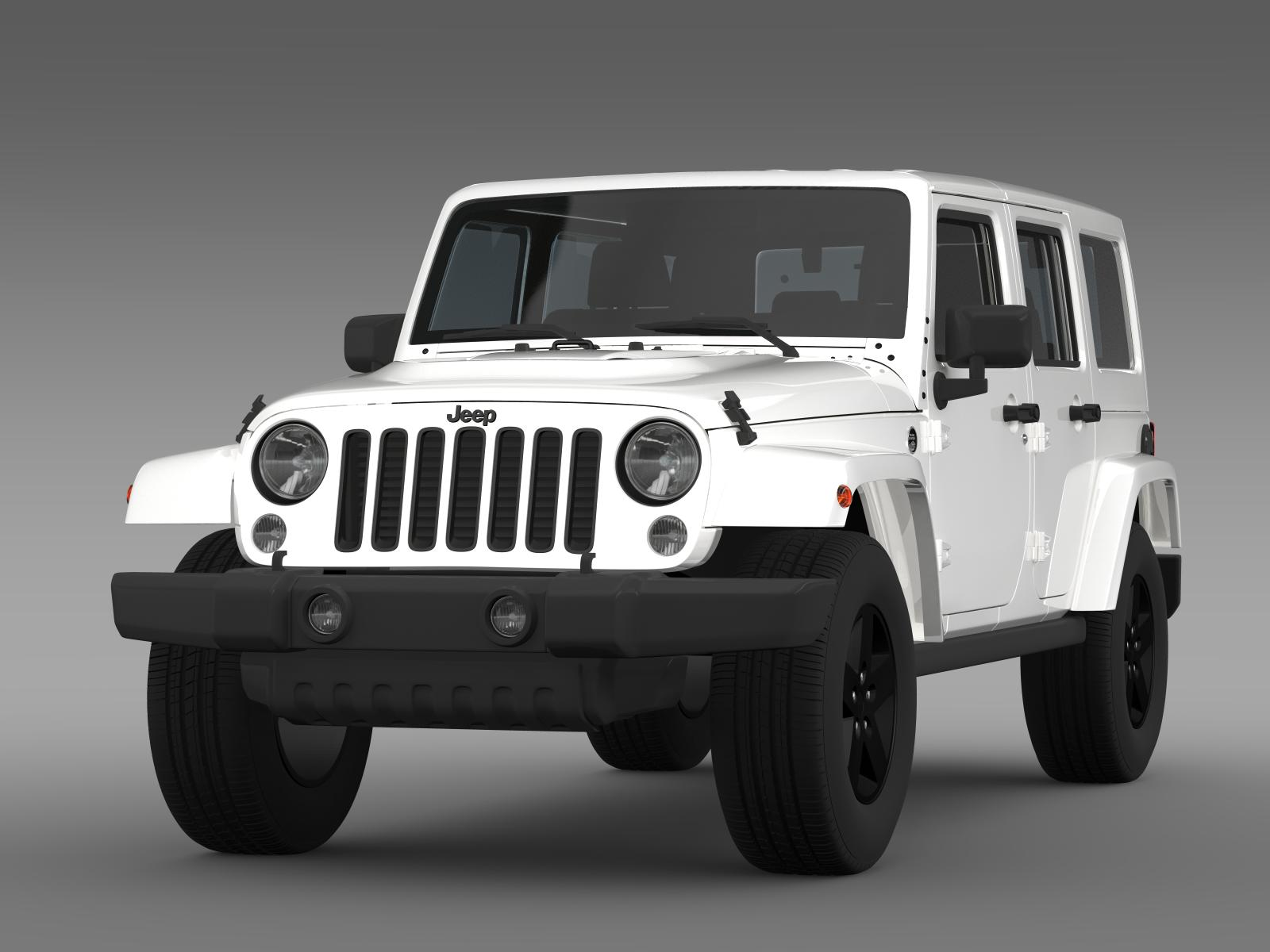 jeep wrangler unlimited x 2015 3d model buy jeep wrangler unlimited x 2015 3d model flatpyramid. Black Bedroom Furniture Sets. Home Design Ideas