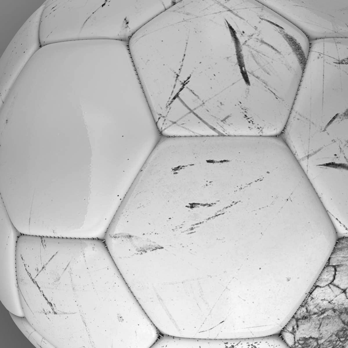 soccerball цагаан 3d загвар 3ds max fbx c4d ma mb obj 205180