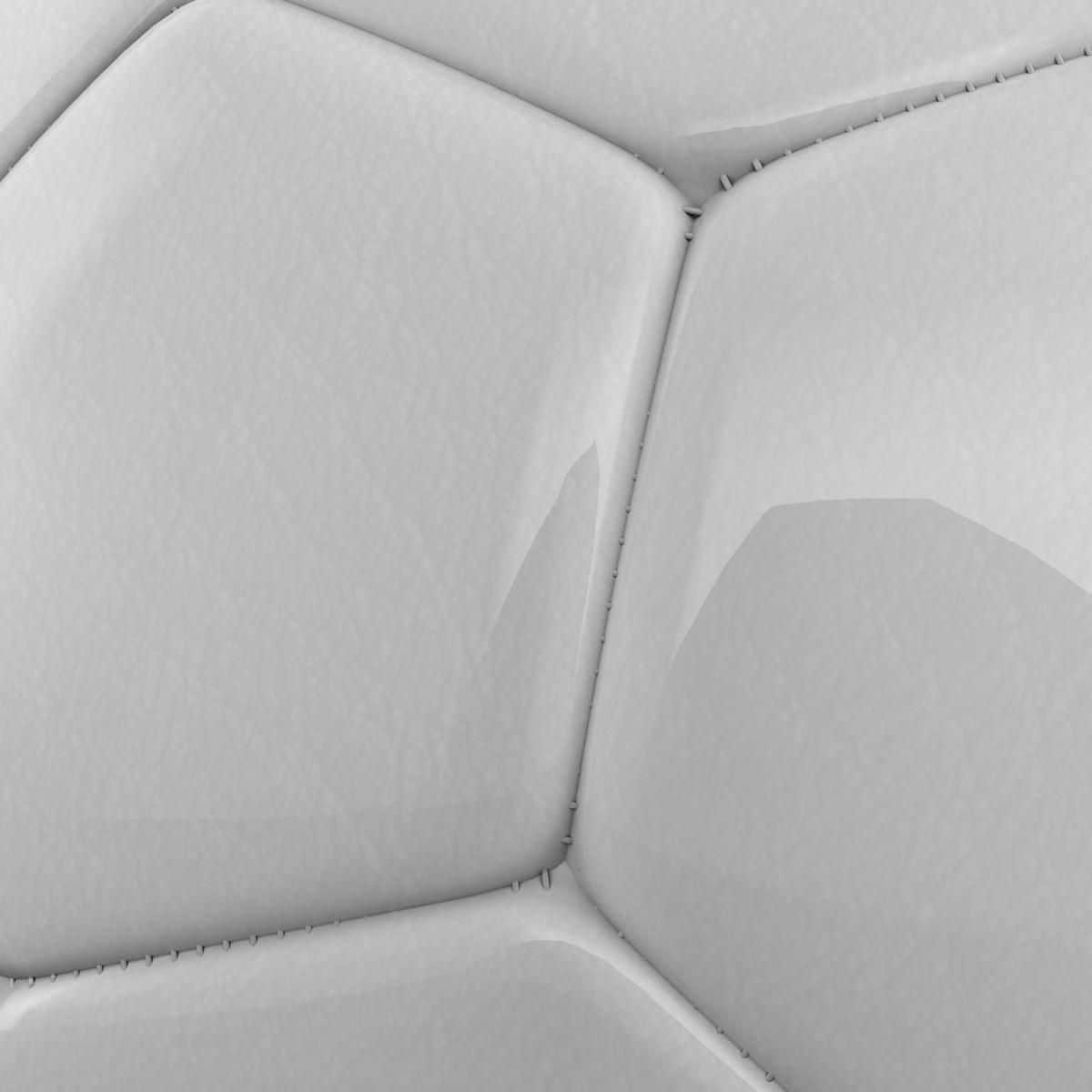 soccerball цагаан 3d загвар 3ds max fbx c4d ma mb obj 205182