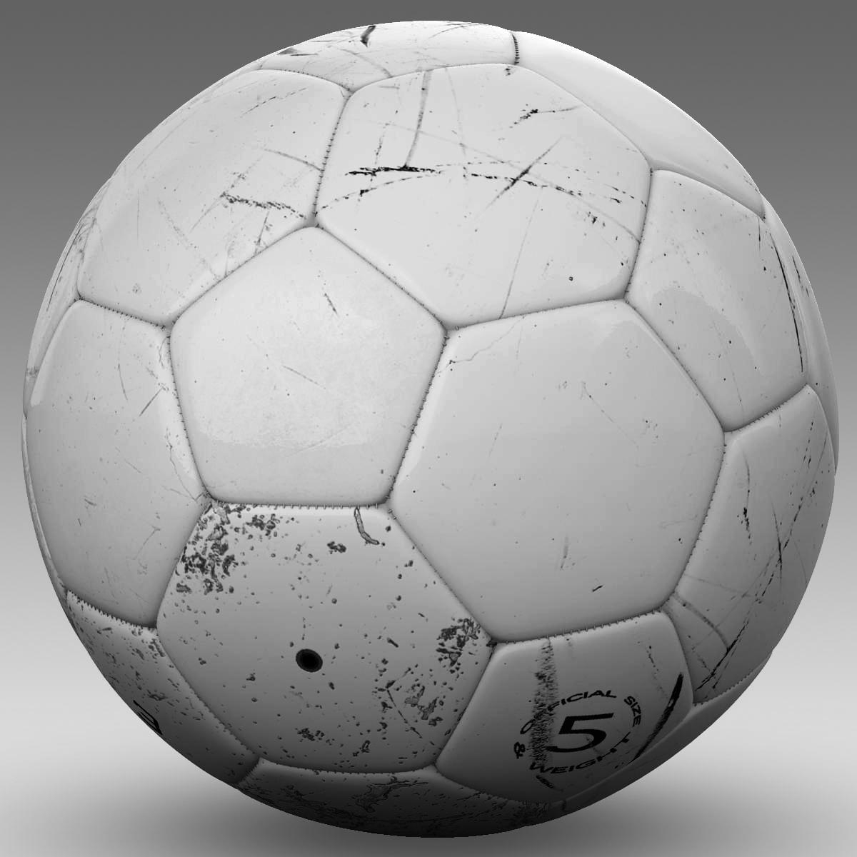 soccerball цагаан 3d загвар 3ds max fbx c4d ma mb obj 205183