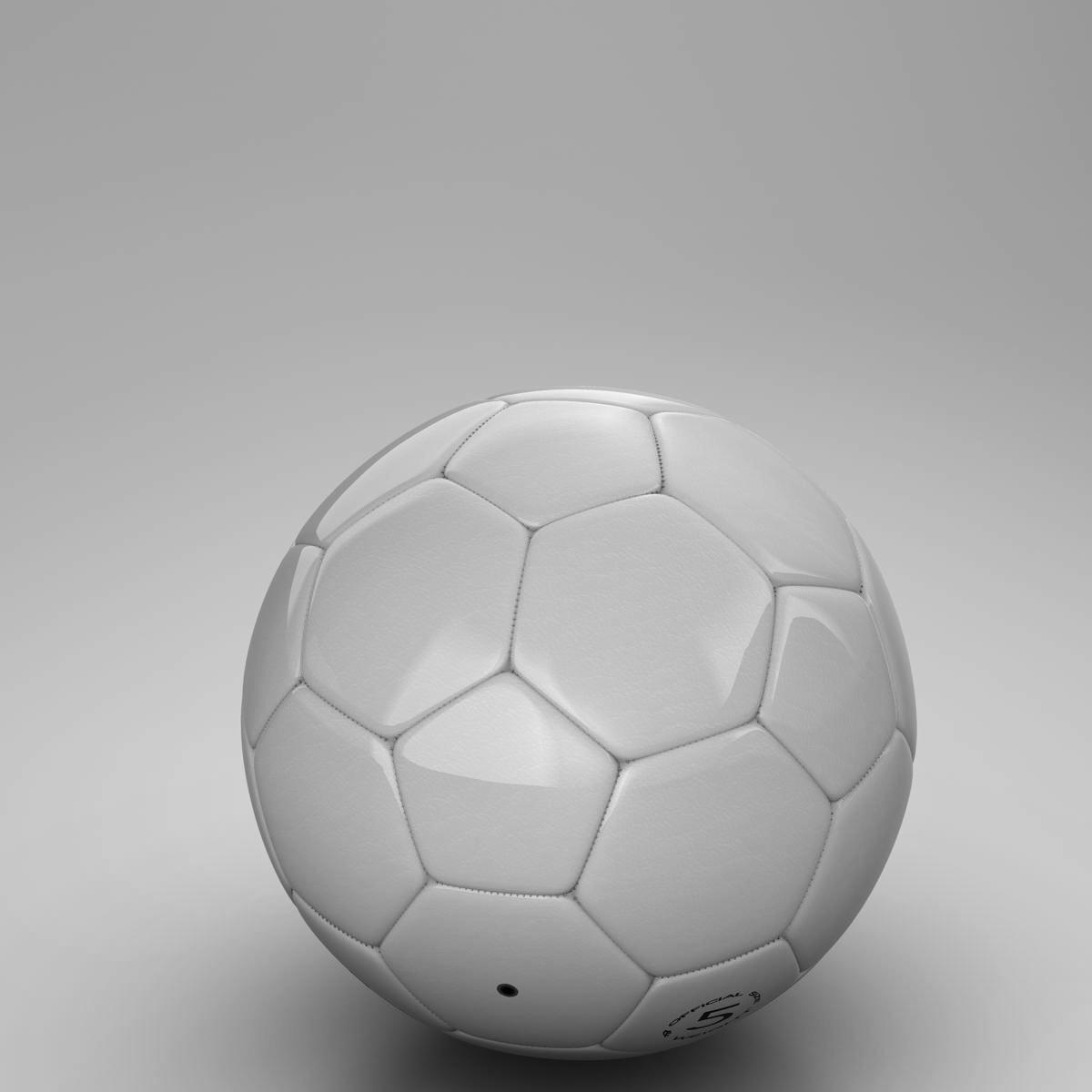 soccerball цагаан 3d загвар 3ds max fbx c4d ma mb obj 205184