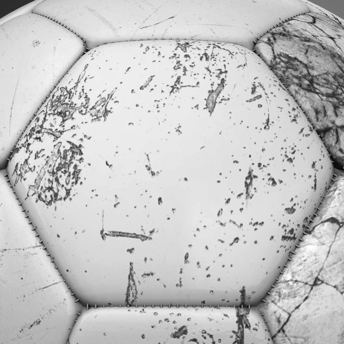soccerball цагаан 3d загвар 3ds max fbx c4d ma mb obj 205185