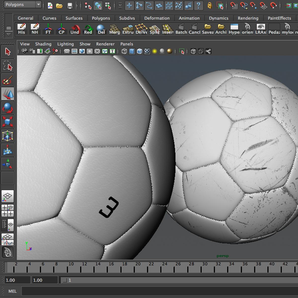 soccerball цагаан 3d загвар 3ds max fbx c4d ma mb obj 205186