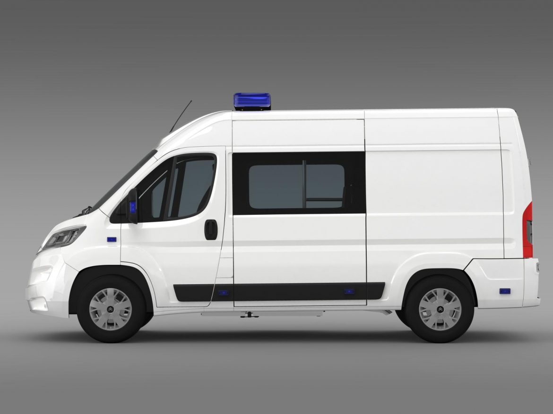 citroen relay police 2015 3d model 3ds max fbx c4d lwo ma mb hrc xsi obj 205275