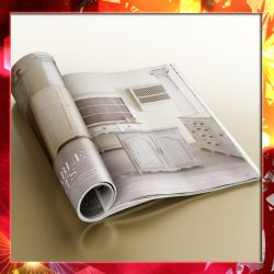 Magazine 02 3d model 3ds max fbx  obj