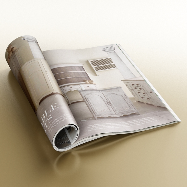 magazine 02 3d model 3ds max fbx texture obj 205310