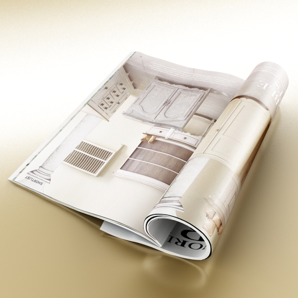 magazine 02 3d model 3ds max fbx texture obj 205313