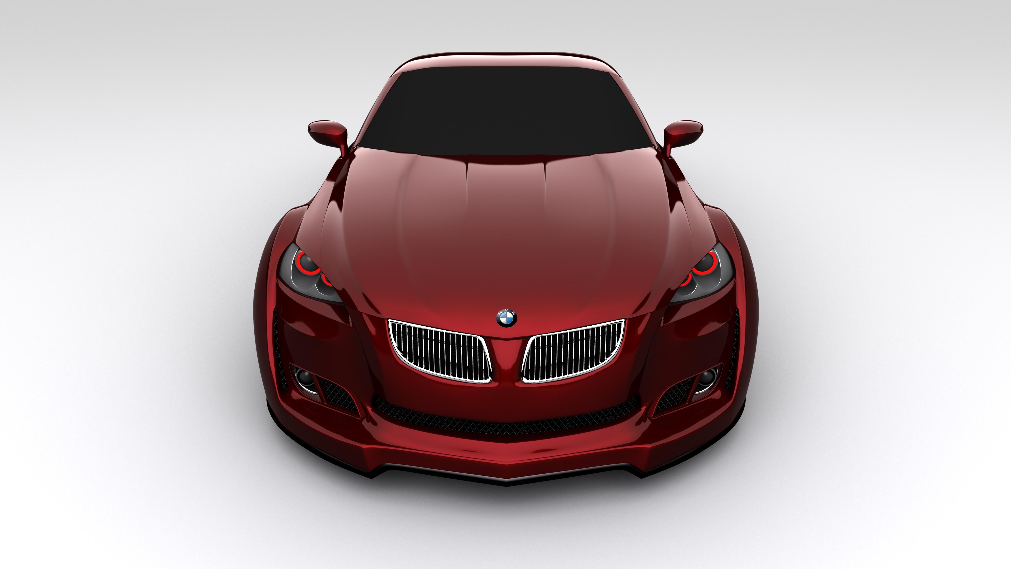 bmw concept 3d model max 205358