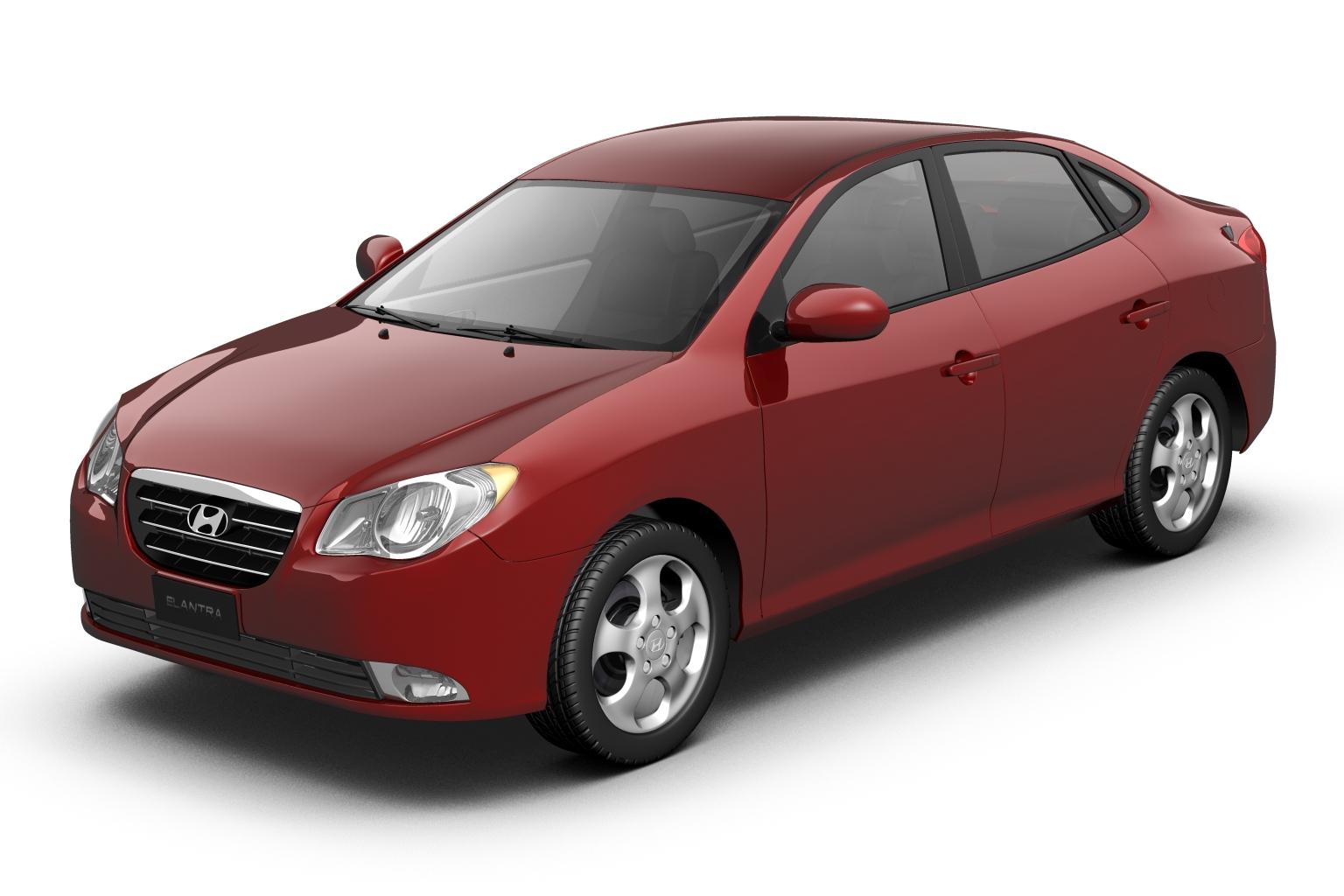 2007 hyundai elantra (avante) 3d model 3ds max fbx lwo hrc xsi obj 205402