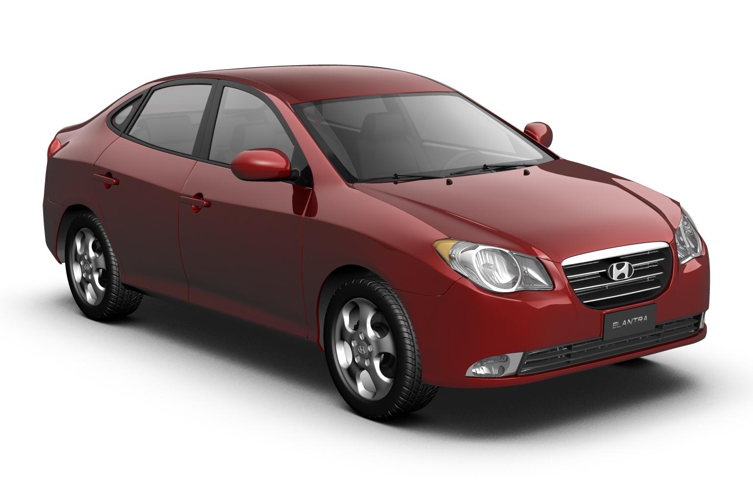 2007 hyundai elantra (avante) Model 3d 3ds max fbx lwo hrc xsi obj 205408