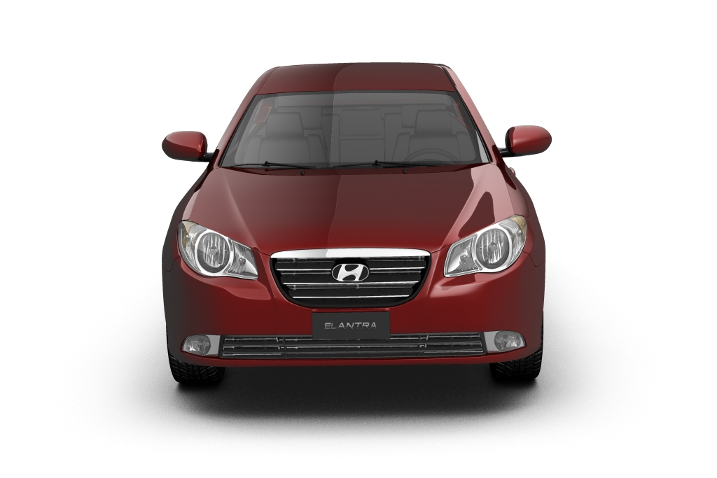 2007 hyundai elantra (avante) Model 3d 3ds max fbx lwo hrc xsi obj 205409