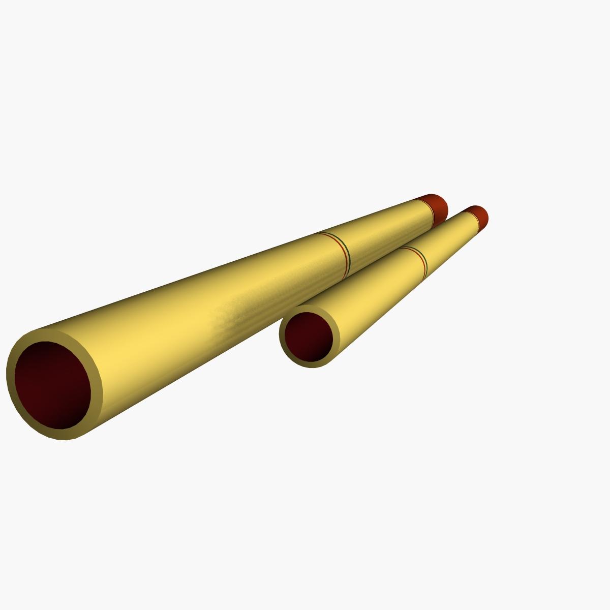 fadjr-3 & fadjr-5 rocket 3d model 3ds dxf fbx blend cob dae x  obj 205483