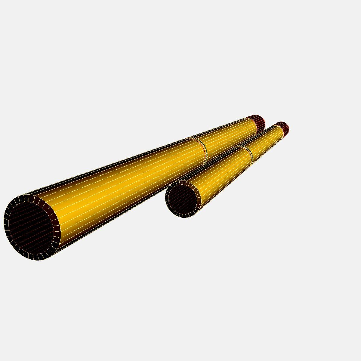 fadjr-3 & fadjr-5 rocket 3d model 3ds dxf fbx blend cob dae x  obj 205486