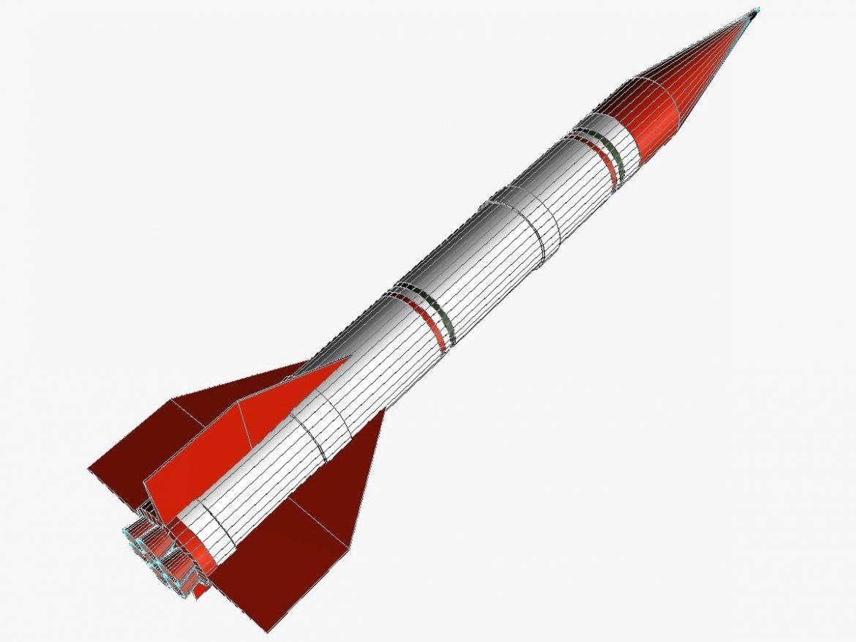 Shahin II Rocket 3d model 3ds dxf fbx blend cob dae X  obj