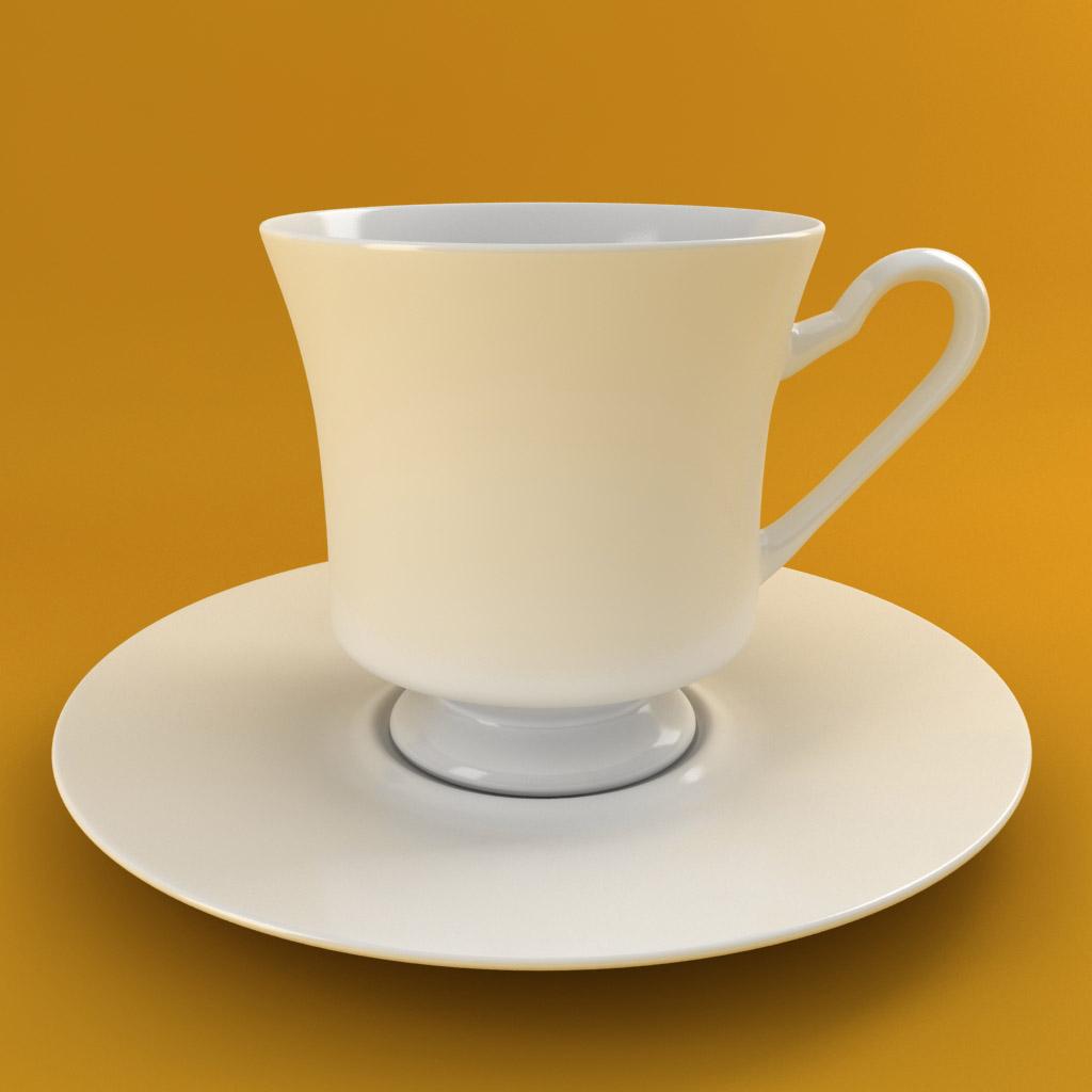 čaj za kavu 001 3d model 3ds max fbx obj 205514
