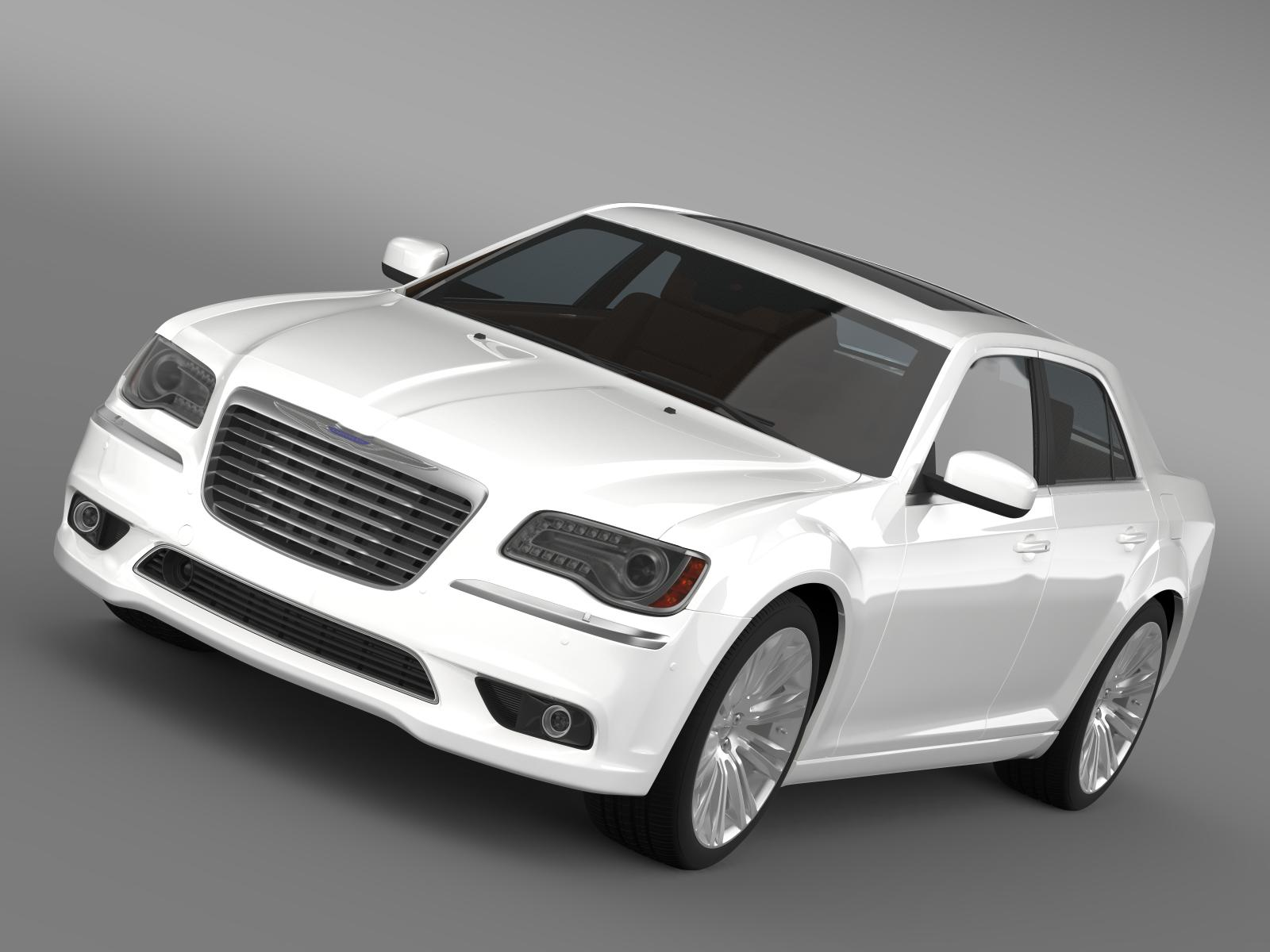 chrysler 300c 2013 3d model 3ds max fbx c4d lwo ma mb hrc xsi obj 205536