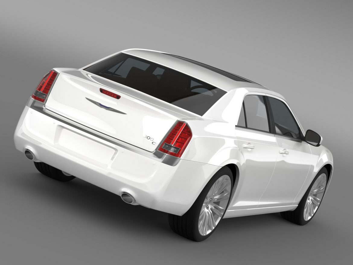 chrysler 300c 2013 3d model 3ds max fbx c4d lwo ma mb hrc xsi obj 205537