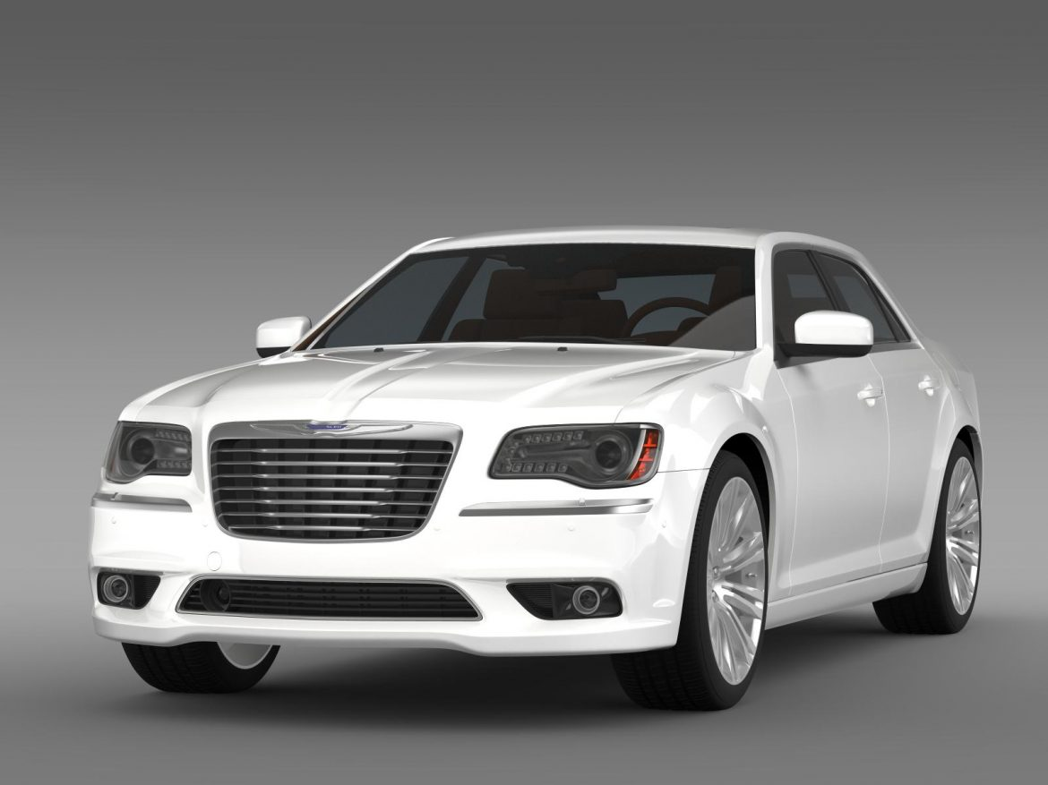 chrysler 300c 2013 3d model 3ds max fbx c4d lwo ma mb hrc xsi obj 205538