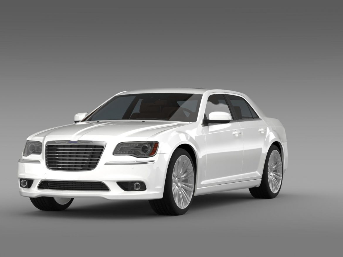 chrysler 300c 2013 3d model 3ds max fbx c4d lwo ma mb hrc xsi obj 205539
