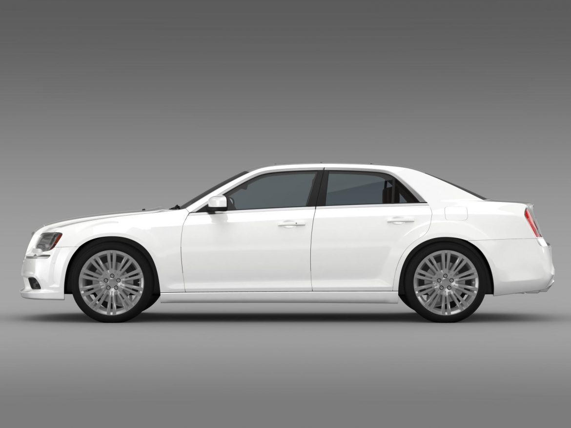 chrysler 300c 2013 3d model 3ds max fbx c4d lwo ma mb hrc xsi obj 205541