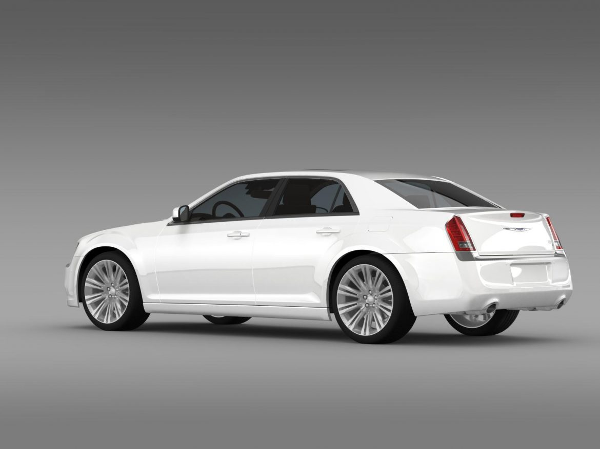 chrysler 300c 2013 3d model 3ds max fbx c4d lwo ma mb hrc xsi obj 205542