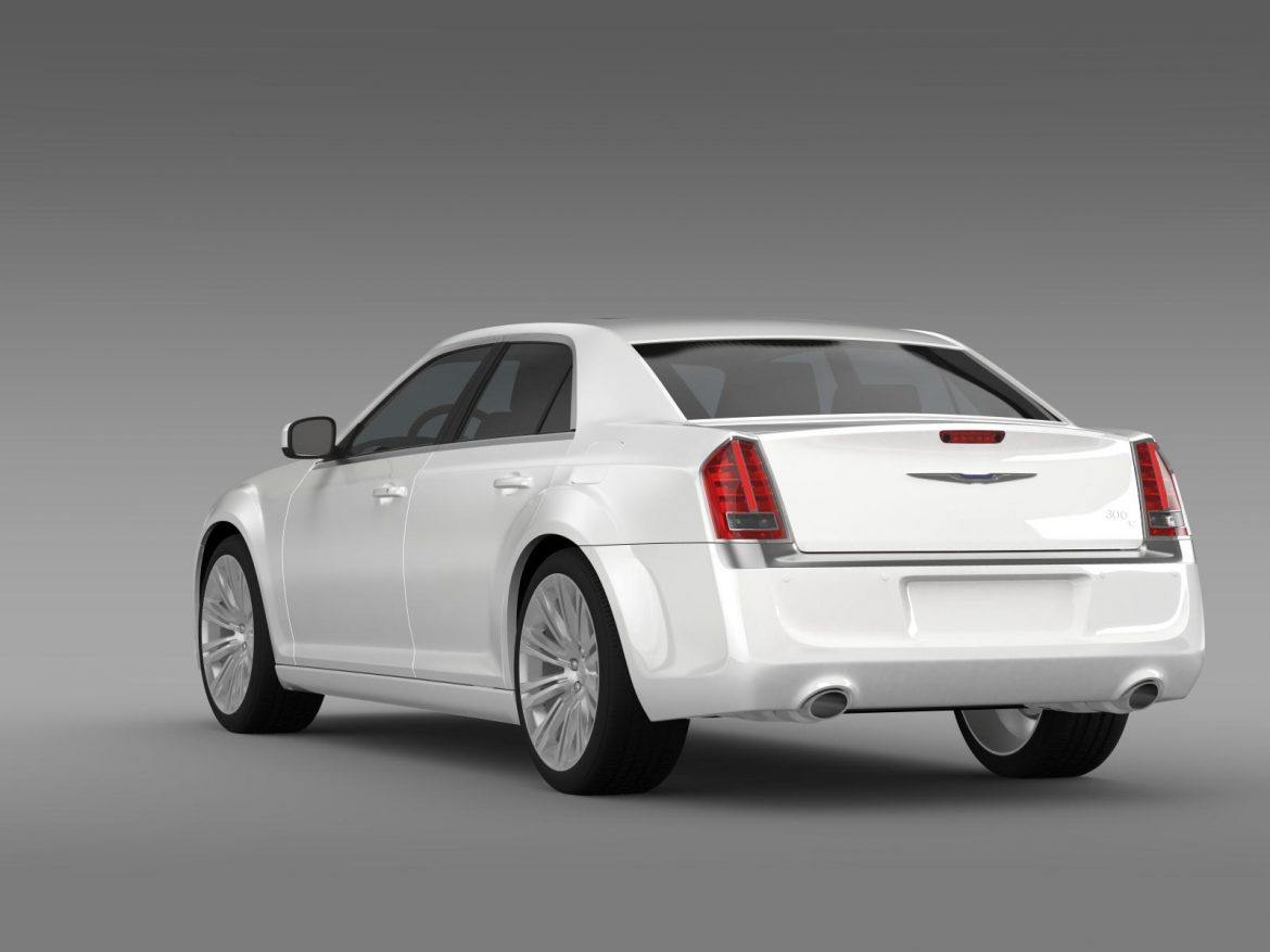 chrysler 300c 2013 3d model 3ds max fbx c4d lwo ma mb hrc xsi obj 205543