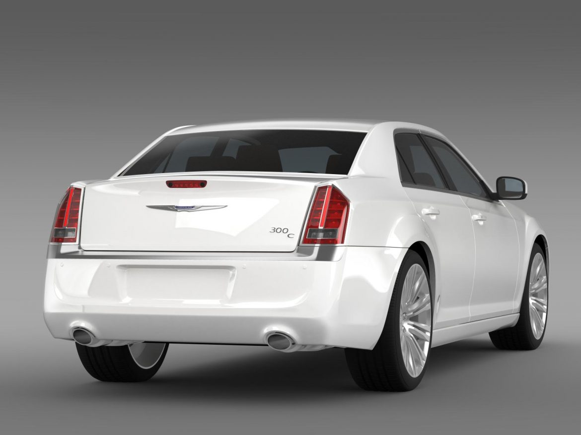 chrysler 300c 2013 3d model 3ds max fbx c4d lwo ma mb hrc xsi obj 205544